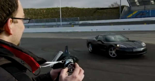 This Guy Turns His Corvette Into A RC Car 1