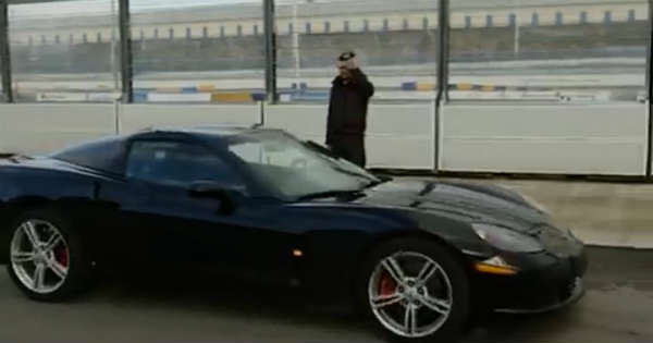 This Guy Turns His Corvette Into A RC Car 2