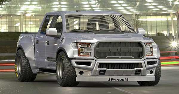 Wide Body Ford Raptor F 150 Pandem Displayed at Tokyo Auto Salon 1