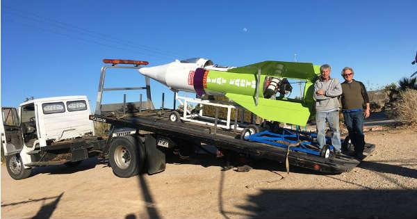 homemade rocket launch date 2