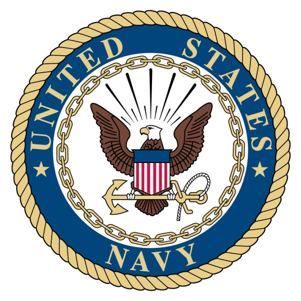 United States Navy Spare Tire Cover with Logo