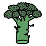 broccoli - drawing