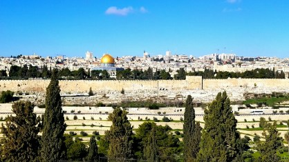 From Mt of Olives