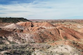 The Painted Desert was named by explorer Francisco Vazquez de Coronado in 1540
