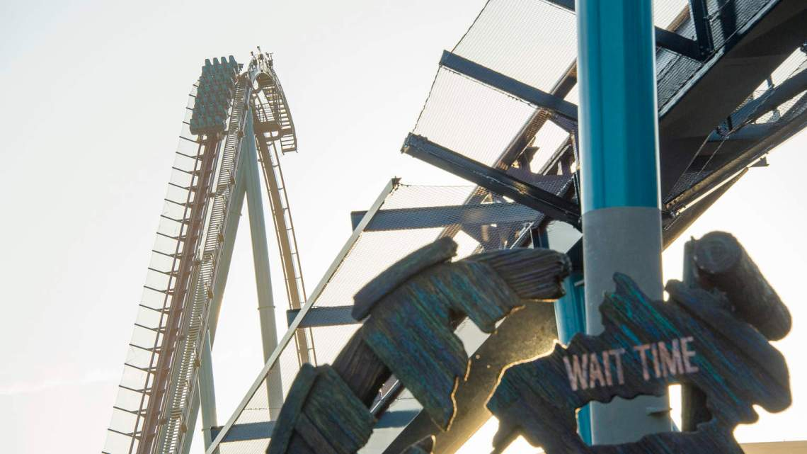 Orlando's Tallest, Fastest and Longest Coaster opens today! Introducing MAKO