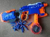 Nerf Hyperfire blaster in pieces