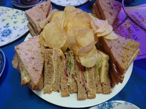 Blackpool ballroom sandwiches