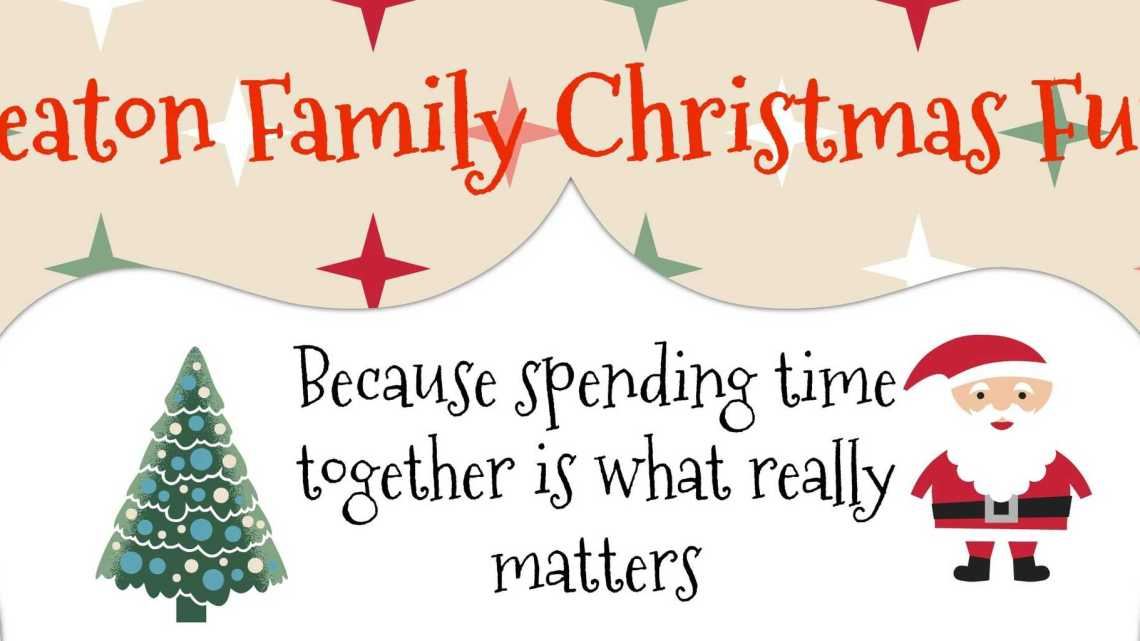 What Christmas is really about – Spending time together