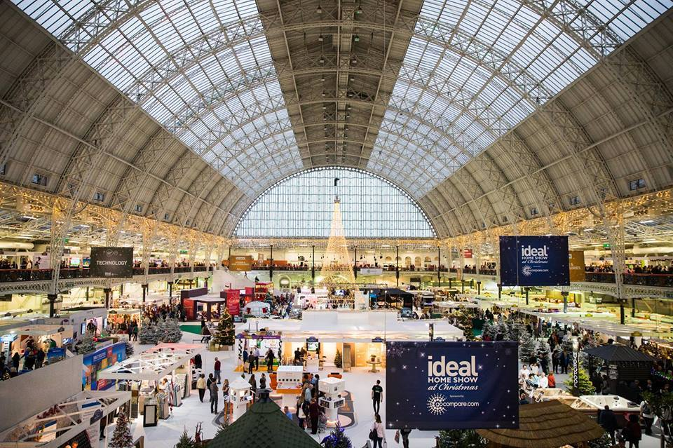 Win 1 of 5 pairs of tickets to the Ideal Home Show Christmas London Olympia 23-27th November