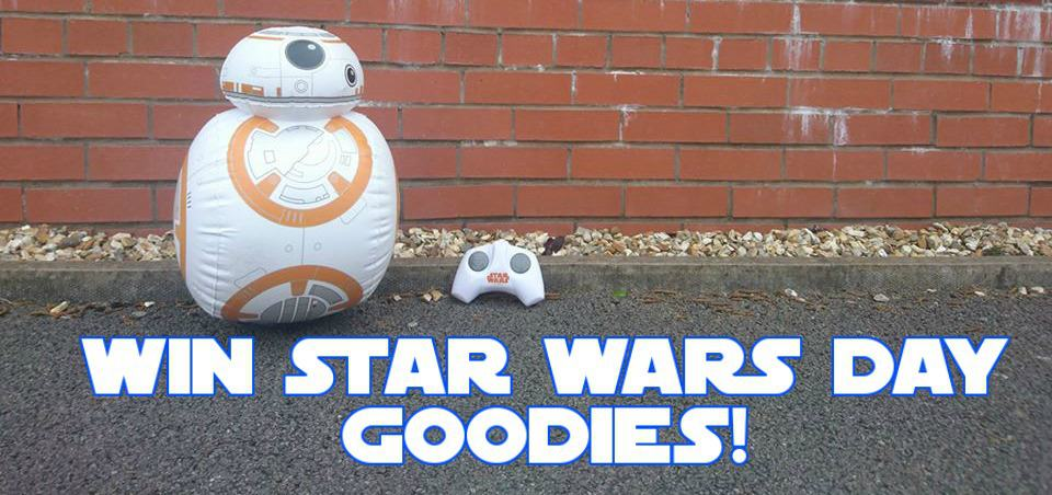 May the fourth be with you giveaway #StarWarsDay