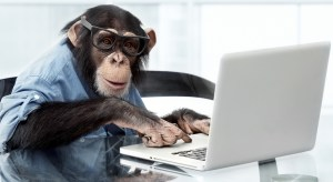 Here's how much fun I'm having writing this site: I can put up a crap stock photo of a monkey using a laptop and I couldn't give a fuuuuuck