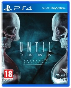 Until Dawn UK box art