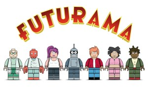 A Lego Futurama fan design