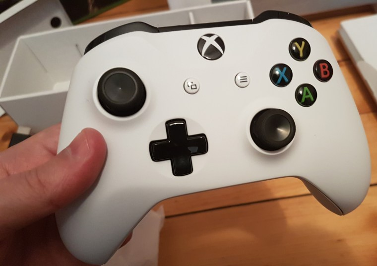 The best standard Xbox controller to date (haven't tried the ridiculously expensive Elite yet)