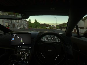 Here's an actual screenshot of Driveclub VR as shared on Twitter. See the difference?