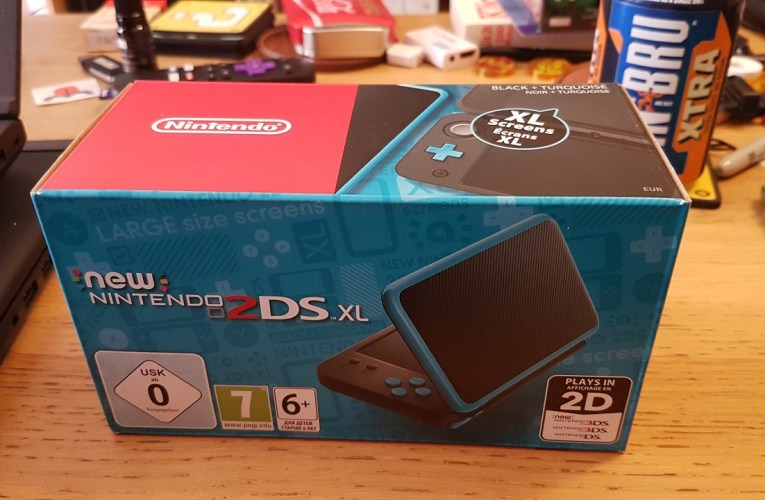 New 2DS XL unboxing and first hands-on impressions video