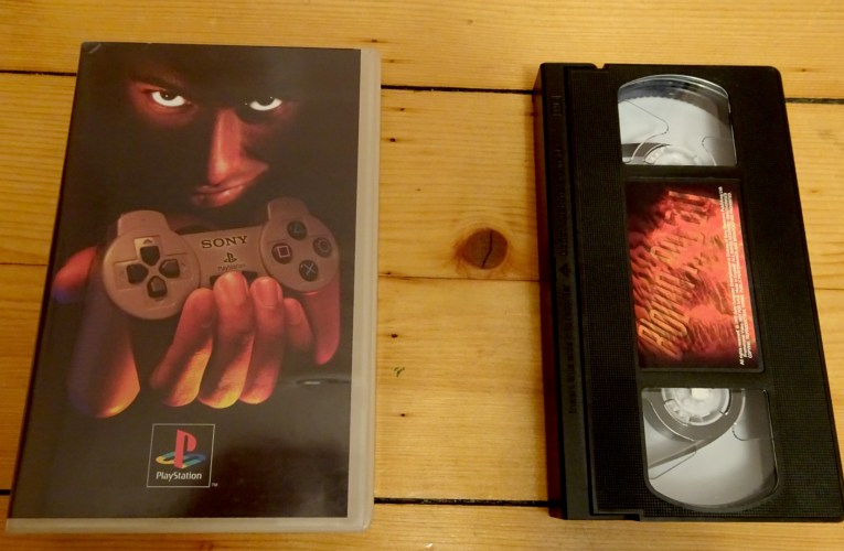 VHS Preservation Project #3: Blown Away (PS1)
