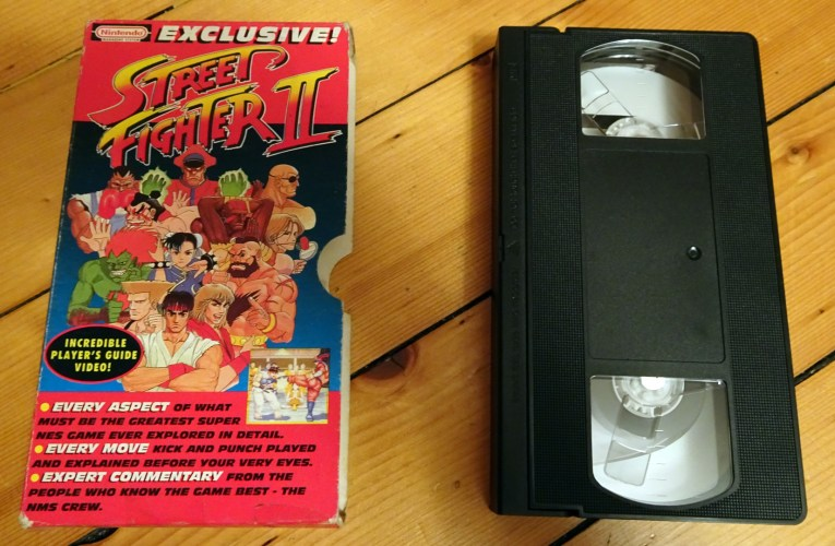 VHS Preservation Project #5: NMS Street Fighter II Player's Guide
