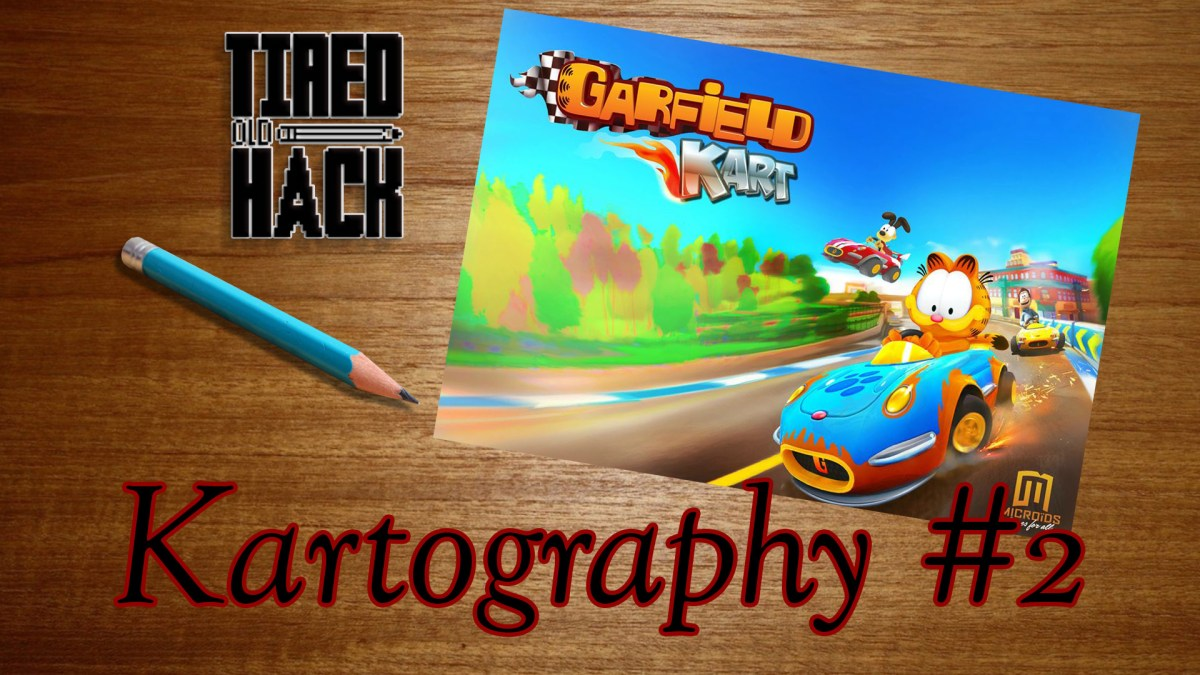 Kartography 2 Garfield Kart Tired Old Hack