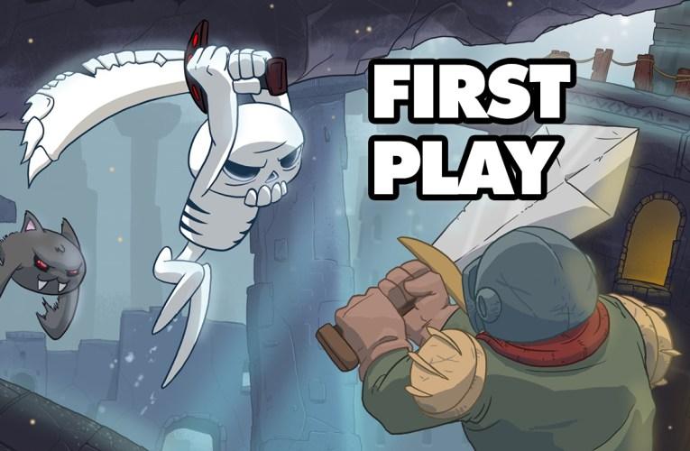 First Play – Skelattack (Switch)
