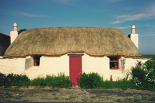 Thatched Cottages on Tiree