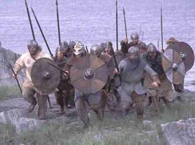 Vikings try to take Tiree