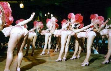 Alice and Ellen Kassler Dancers in Paris' Bluebell Troupe