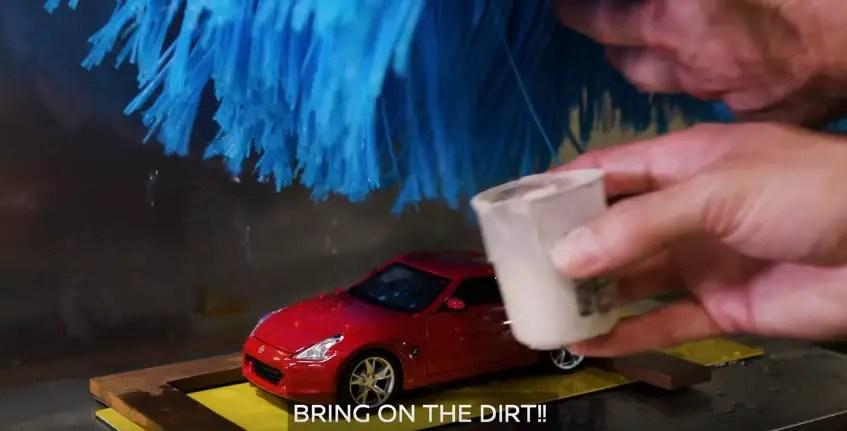 Nissan car wash