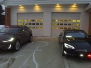 Tesla emergency vehicles