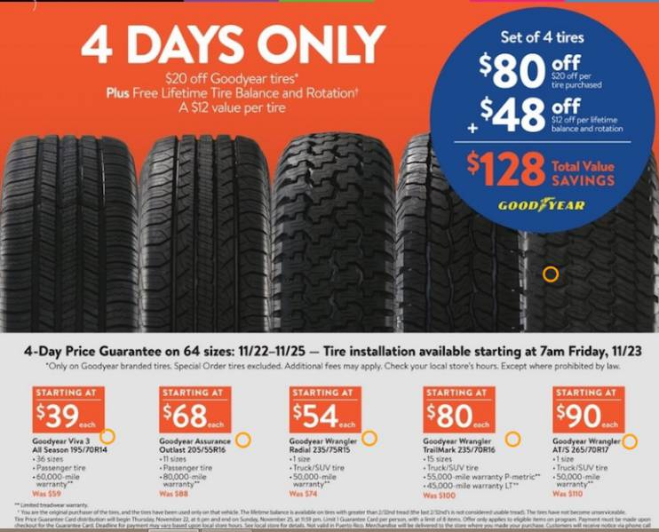 Walmart Oil Change Price >> Are Goodyear Viva 3 All Season Tires Any Good Even Though