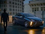 Toyota Mirai ad campaign