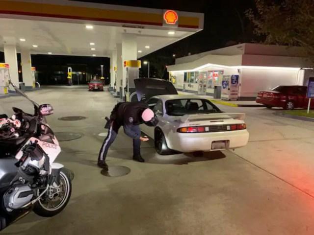 socal police car meet