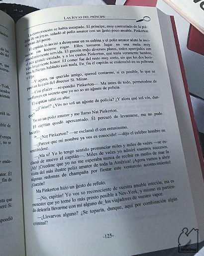 Novelas sefardíes. Nat Pinkerton p. 125