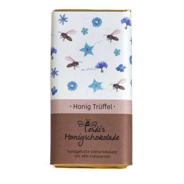 Ferdi's Blütenhonig-Trüffel Schokolade 48%