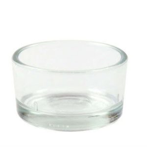 Glas Teelicht