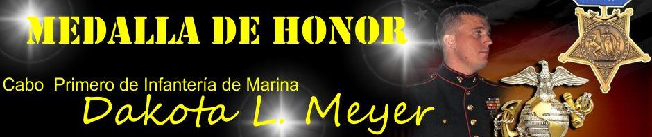 Dakota L. Meyer. Medalla de Honor.
