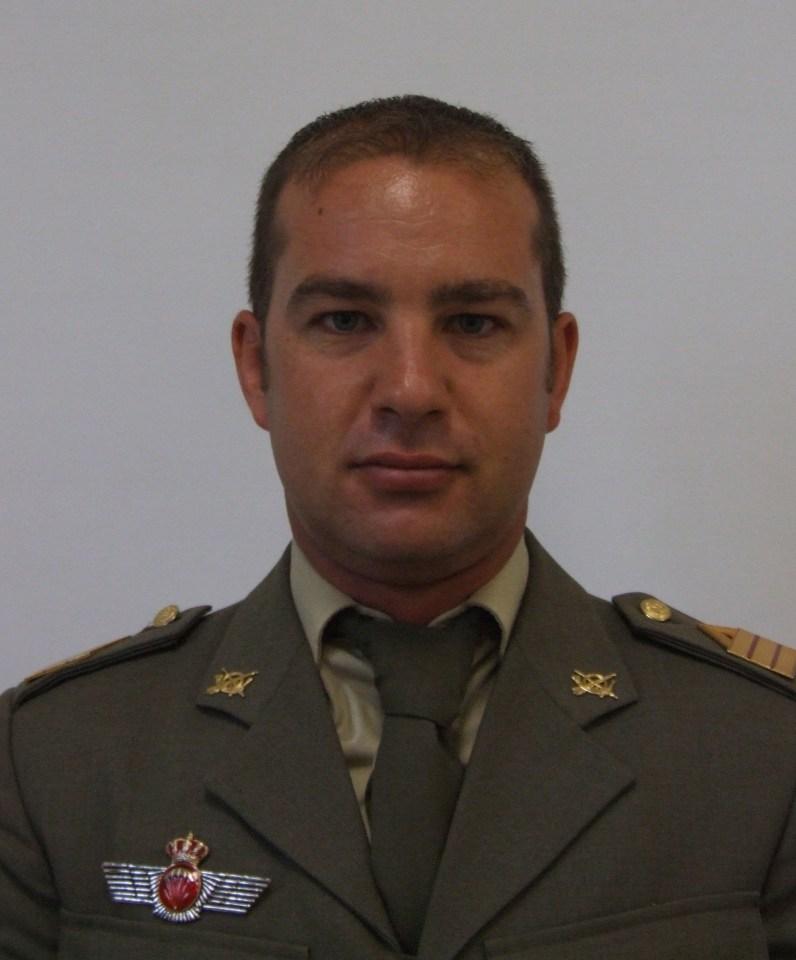 Joaquin Moya Espejo, Sargento Primero del Ejército de Tierra