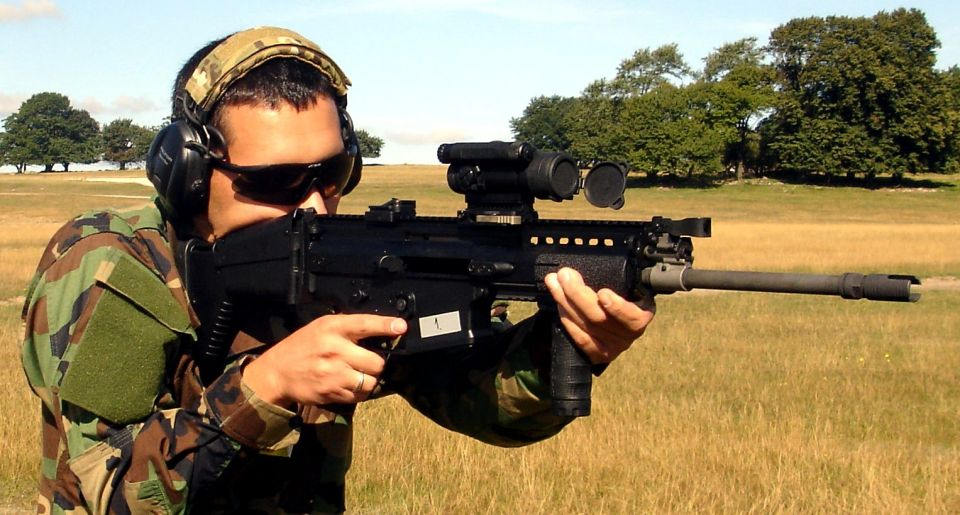 2. FUSA FN SCAR-H Standard (7'62x51 mm.). ©Jorge Tierno Rey.