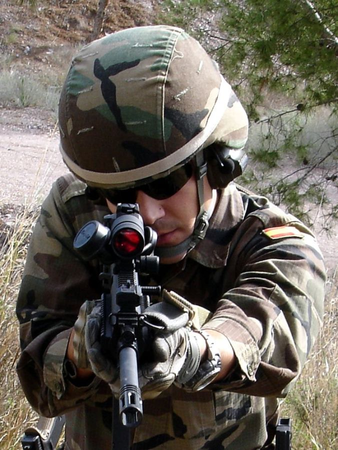 1. Fusil ISSC MK22. ©Jorge Tierno Rey