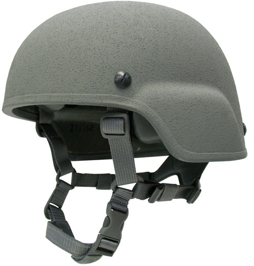 Advanced Combat Helmet (ACH).