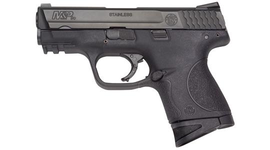 Pistola semiautomática compacta S&W MP9 Compact.
