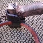 Fundas Cabrero. Funda pistolera modelo 1039 en cuero para pistola G17.