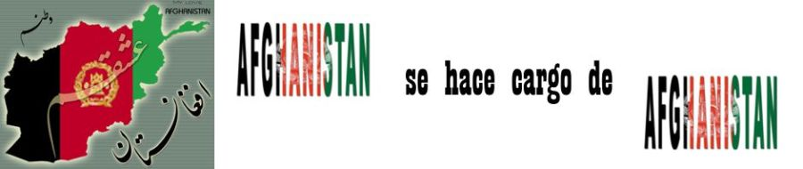 Afganistán se hace cargo de Afganistán