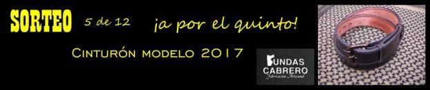 SORTEO. Fundas Cabrero. ¡A por el 5º! Cinturón modelo 2017, para uso diario (5 de 12).