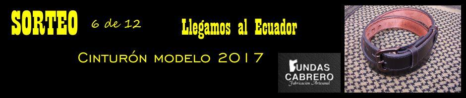 SORTEO. Fundas Cabrero. Llegamos al Ecuador ¡6º sorteo! Cinturón modelo 2017, para uso diario (6 de 12)