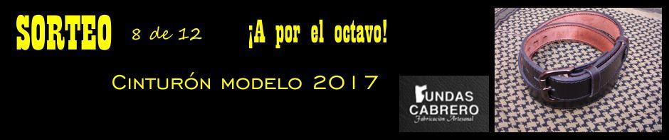 SORTEO. Fundas Cabrero. ¡A por el octavo! Cinturón modelo 2017, para uso diario (8 de 12).