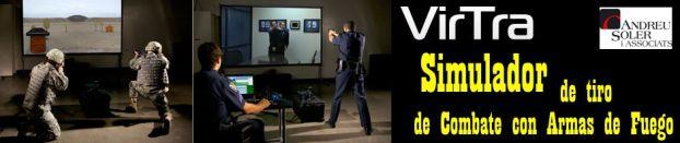 Simulador de Tiro/Combate con armas de fuego VirTra.