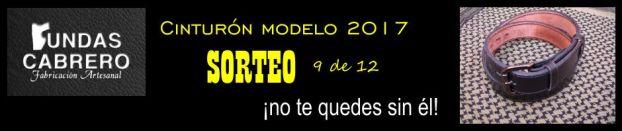 SORTEO. ¡No te quedes sin él! Cinturón Fundas Cabrero modelo 2017, para uso diario (9 de 12).