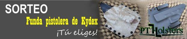 SORTEO. PT Holsters. Funda pistolera de Kydex. ¡Tú eliges!
