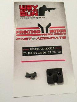 Proctor Y Notch Pistol Sights
